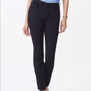 NYDJ Alina Legging Skinny Jeans Black Size 14